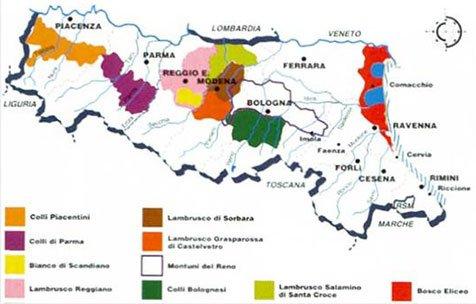 Emilia Romagna Slow wine
